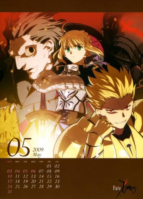 Ufotable, TYPE-MOON, Fate/Zero, Saber, Caster (Fate/Zero)