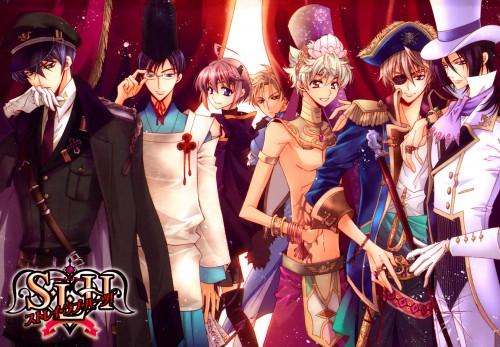 Aya Shouoto, Stray Love Hearts, Hijiri Asukai, Kuga Reizei, Minemitsu Yamashina