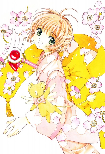 CLAMP, Cardcaptor Sakura, Cardcaptor Sakura Memorial Book, Sakura Kinomoto, Keroberos