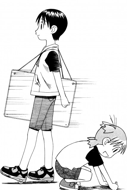 Kiyohiko Azuma, Yotsubato!, Miura Hayasaka, Yotsuba Koiwai