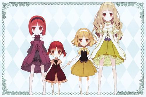 Unaji, J.C. Staff, Ookami-san to Shichinin no Nakama-tachi, Ringo Akai, Himeno Shirayuki