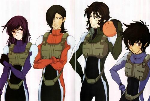 Yun Kouga, Mobile Suit Gundam 00, Gundam 00 Yun Kouga: Dear Meisters Comic & Arts, Tieria Erde, Lockon Stratos