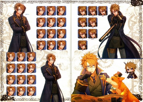 miko (Mangaka), Idea Factory, Code: Realize Official Fan Book, Code: Realize, Abraham Van Helsing