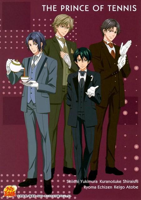 Takeshi Konomi, J.C. Staff, Prince of Tennis, Ryoma Echizen, Genichiro Sanada