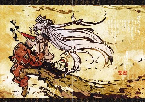 Tokiame, Byou - Touhou Kaki Tsuzuri Vol. 6, Touhou, Fujiwara no Mokou