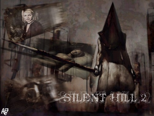 Silent Hill, Maria (Silent Hill), Pyramid Head Wallpaper