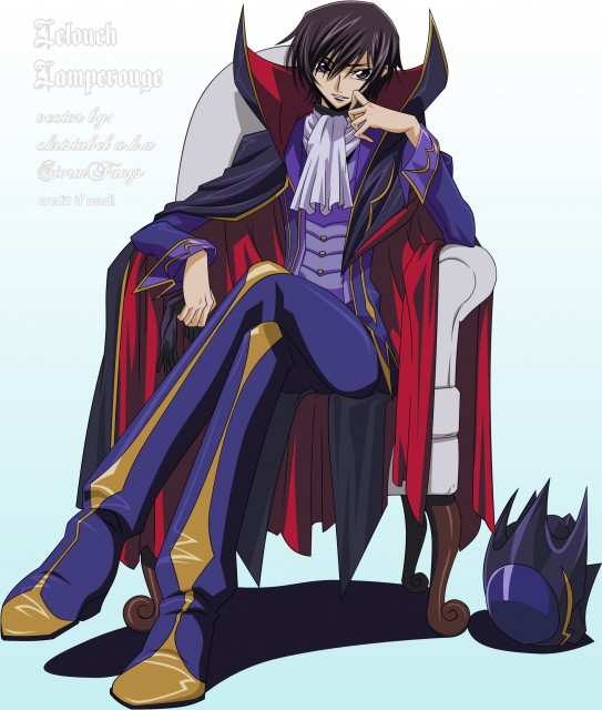 Lelouch of the Rebellion, Lelouch Lamperouge, Vector Art
