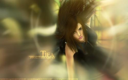 Final Fantasy VII: Advent Children, Final Fantasy VII, Tifa Lockhart Wallpaper
