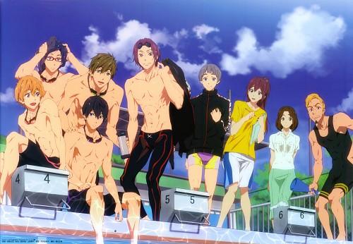 Futoshi Nishiya, Kyoto Animation, Free!, Aiichiro Nitori, Haruka Nanase (Free!)