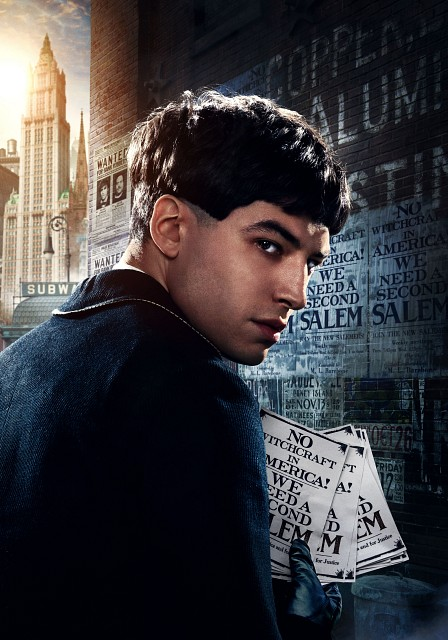 Warner Bros., Fantastic Beasts, Credence Barebone, Pin-up Poster