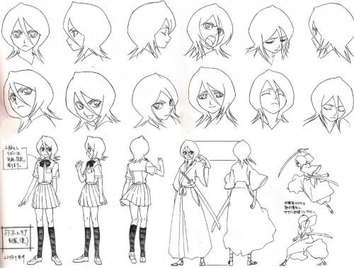 Studio Pierrot, Bleach, Rukia Kuchiki, Character Sheet