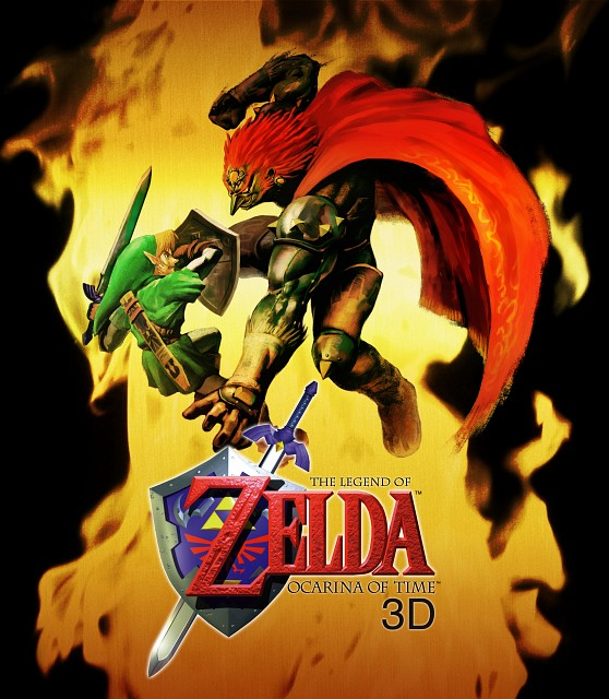 Nintendo, The Legend of Zelda, The Legend of Zelda: Ocarina of Time, Ganondorf, Link