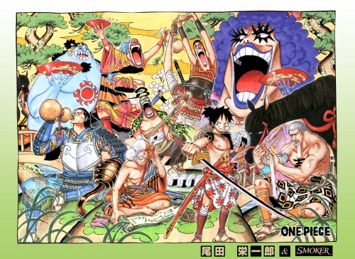 Eiichiro Oda, One Piece, Color Walk 6 - Gorilla, Crocodile (One Piece), Galdino