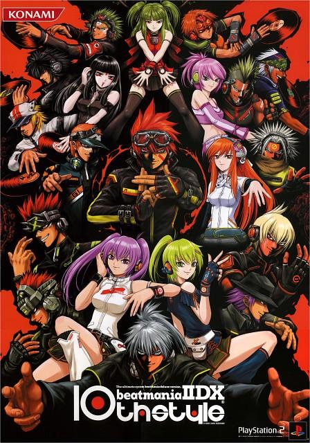 Konami, Beatmania, Duel (Beatmania), Iroha Umegiri, Tekka