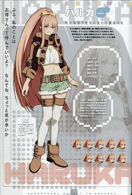 Honyarara, Nitro+, DRAMAtical Murder, Haruka Seragaki, Character Sheet