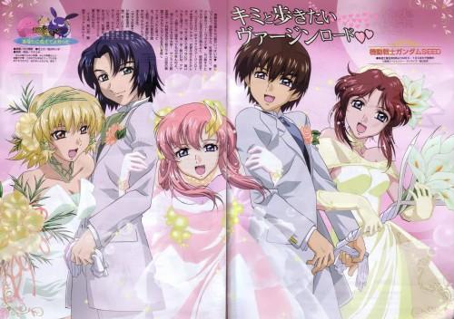 Sunrise (Studio), Mobile Suit Gundam SEED, Lacus Clyne, Kira Yamato, Cagalli Yula Athha