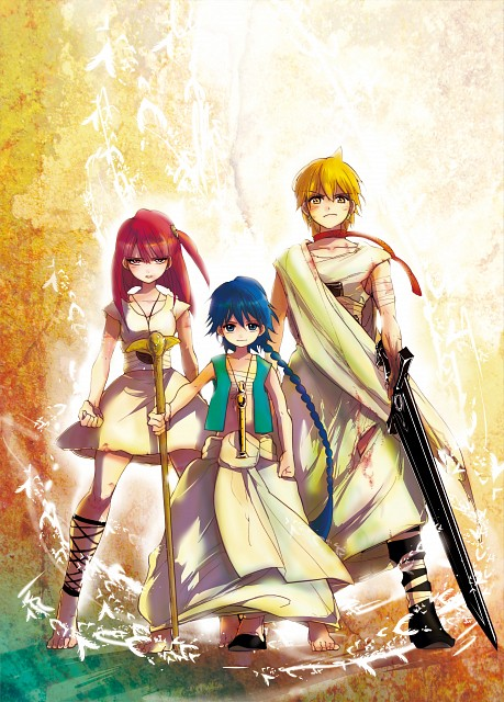 Shinobu Ohtaka, A-1 Pictures, MAGI: The Labyrinth of Magic, Aladdin (MAGI), Morgiana