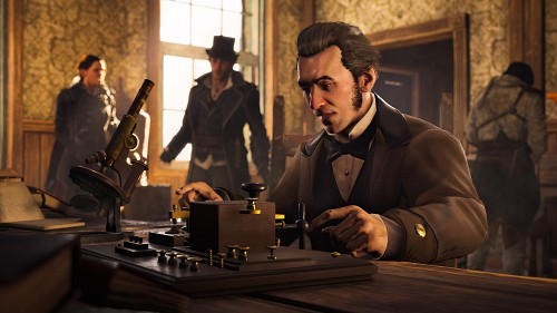 Ubisoft, Assassin's Creed Syndicate, Jacob Frye, Evie Frye, Alexander Graham Bell