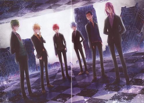 enick, Kuroko no Basket, Kama - The Generation of Miracle, Shintarou Midorima, Tetsuya Kuroko