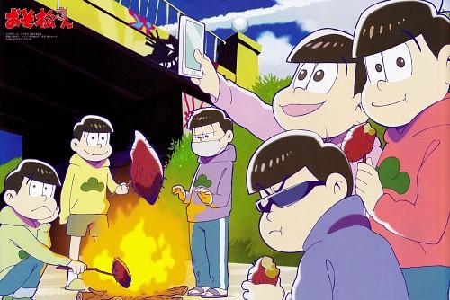 Studio Pierrot, Osomatsu-kun, Todomatsu Matsuno, Ichimatsu Matsuno, Karamatsu Matsuno