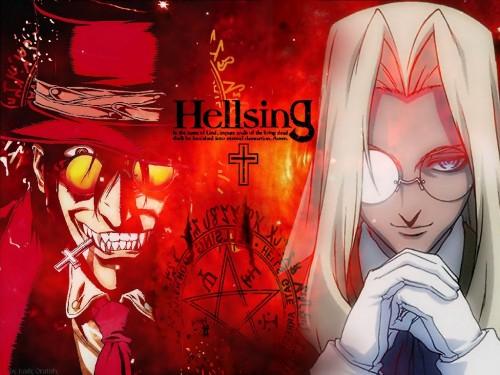 Geneon/Pioneer, Hellsing, Integra Fairbrook Wingates Hellsing, Alucard Wallpaper