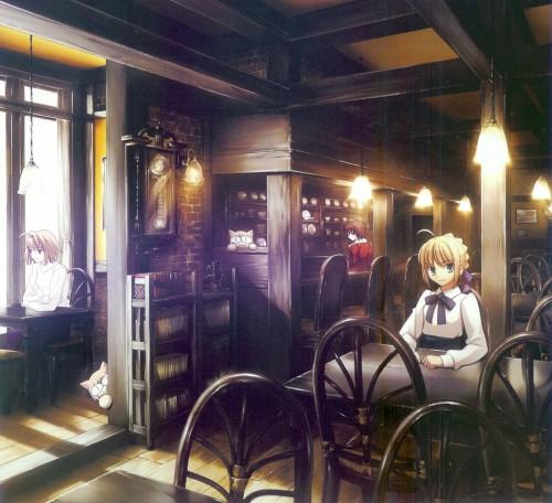 TYPE-MOON, Kara no Kyokai, Fate/stay night, Shingetsutan Tsukihime, Saber