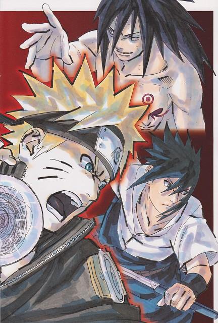 Masashi Kishimoto, Naruto, Madara Uchiha, Sasuke Uchiha, Naruto Uzumaki