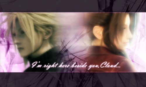 Square Enix, Final Fantasy VII: Advent Children, Final Fantasy VII, Cloud Strife, Aerith Gainsborough Wallpaper