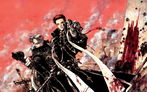 Gonzo, Trinity Blood, Tres Iqus, Abel Nightroad Wallpaper