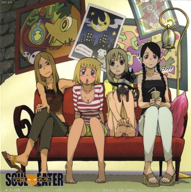 Atsushi Okubo, Soul Eater, Liz Thompson, Tsubaki Nakatsukasa, Blair