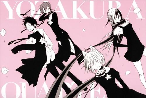 Yozakura Quartet, Kotoha Isone, Ao Nanami, Hime Yarizakura, Akina Hiizumi