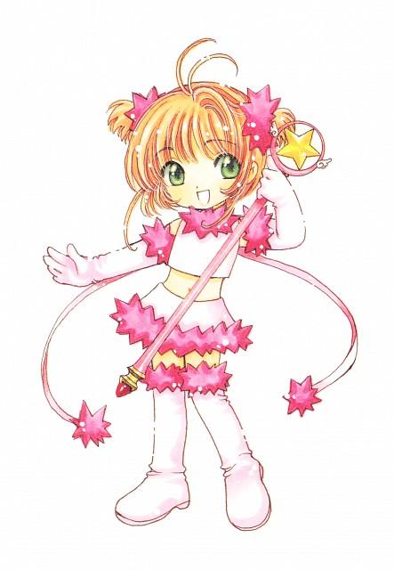 CLAMP, Cardcaptor Sakura, Cardcaptor Sakura Illustrations Collection 3, Sakura Kinomoto