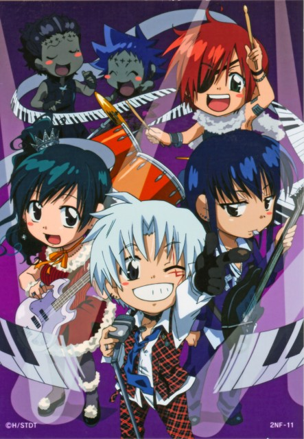 TMS Entertainment, D Gray-Man, Tyki Mikk, Allen Walker, Yu Kanda
