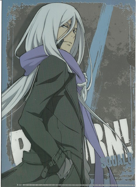 Akira Amano, Katekyo Hitman Reborn!, Superbi Squalo, Pencil Board