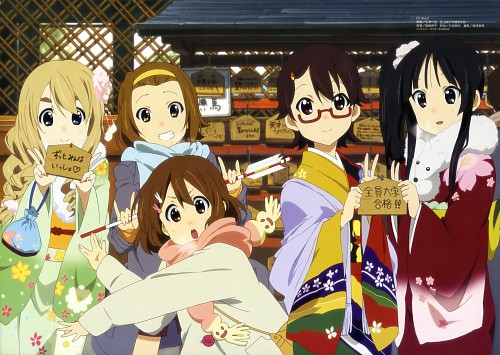 Kazuya Sakamoto (Mangaka), Kyoto Animation, K-On!, Yui Hirasawa, Nodoka Manabe