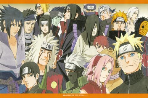 Masashi Kishimoto, Naruto, Mina no Sho Fan Book, Kabuto Yakushi, Sakura Haruno