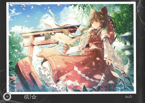 6U, Touhou Project Tribute Arts - Fragment 2, Touhou, Reimu Hakurei, Comic Market 84