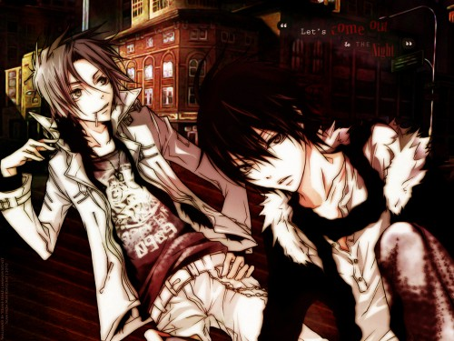 Akira Amano, Artland, Katekyo Hitman Reborn!, Kyoya Hibari, Hayato Gokudera Wallpaper