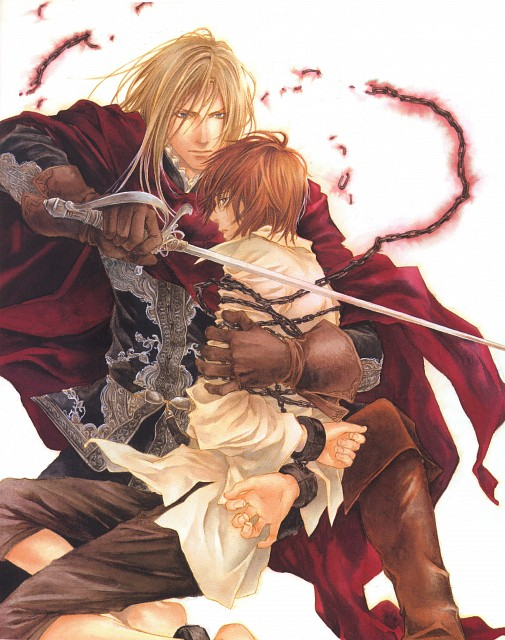 Kaoru Yukifuna, Flesh and Blood, Japanese Comickers 2, Kaito Tougou, Geoffrey Rockford