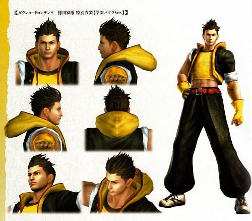 Capcom, Sengoku Basara 4 Official Complete Works, Sengoku Basara, Ieyasu Tokugawa (Sengoku Basara), Character Sheet