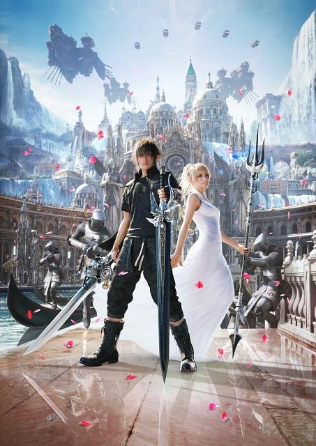 Square Enix, Final Fantasy XV, Lunafreya Nox Fleuret, Noctis Lucis Caelum