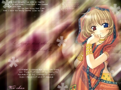 Chisato Naruse, Tenbatsu Angel Rabbie, Lasty Farson Wallpaper