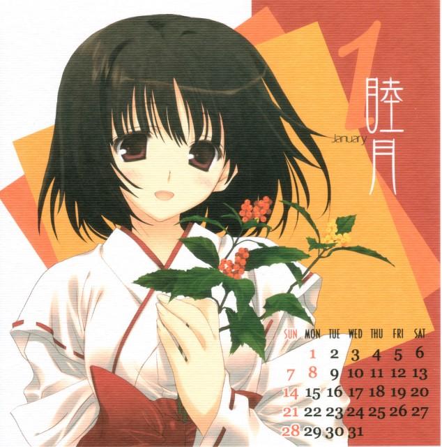 Misato Mitsumi, Cut a Dash!! 2007 Calendar, Doujinshi, Comic Market 71, Calendar
