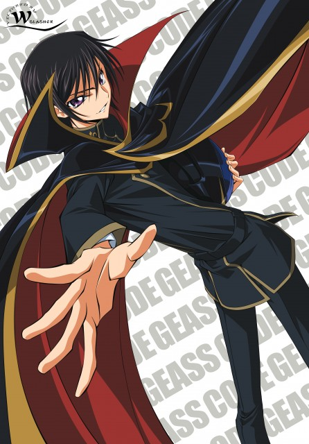 Sunrise (Studio), Lelouch of the Rebellion, Lelouch Lamperouge, Vector Art