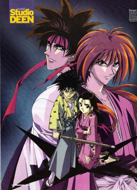 Nobuhiro Watsuki, Studio DEEN, Rurouni Kenshin, Yahiko Myoujin, Sanosuke Sagara