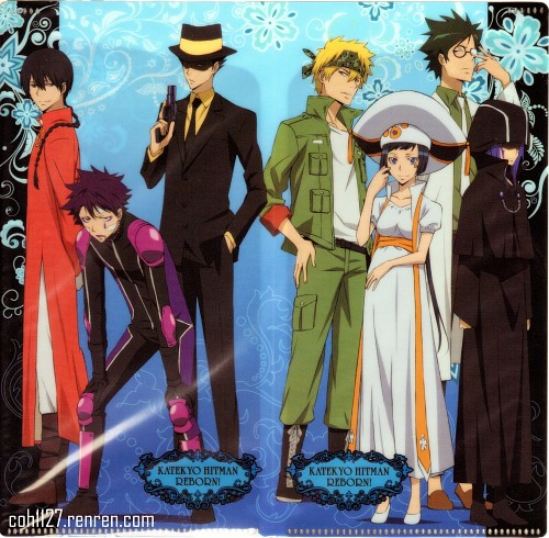 Akira Amano, Artland, Katekyo Hitman Reborn!, Mammon (Katekyo Hitman Reborn!), Verde