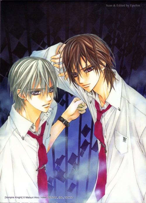 Matsuri Hino, Vampire Knight, Hino Matsuri Illustrations: Vampire Knight, Kaname Kuran, Zero Kiryuu