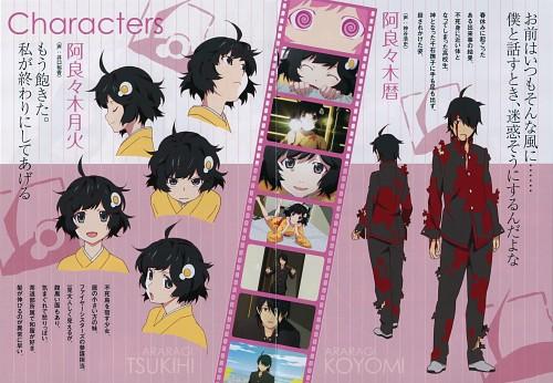 Shaft (Studio), Bakemonogatari, Tsukihi Araragi, Koyomi Araragi, Character Sheet