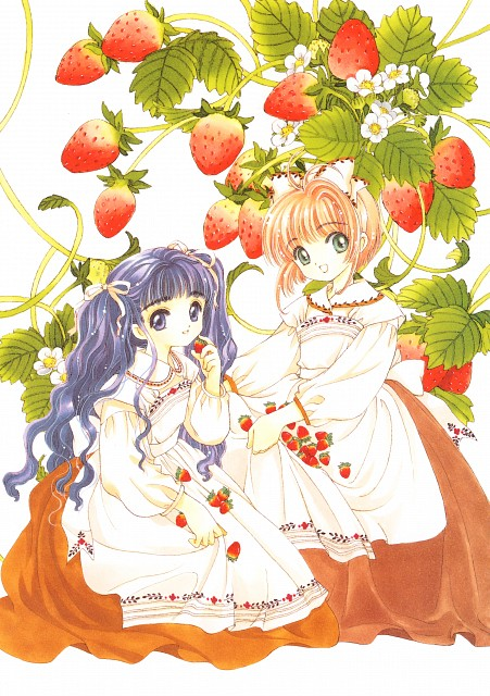 CLAMP, Madhouse, Cardcaptor Sakura, Cardcaptor Sakura Illustrations Collection 2, Tomoyo Daidouji