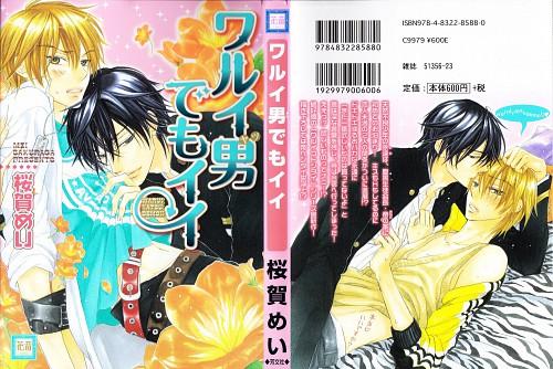 Mei Sakuraga, Warui Otoko Demo Ii, Towa Aikawa, Mikado Shirahane, Manga Cover